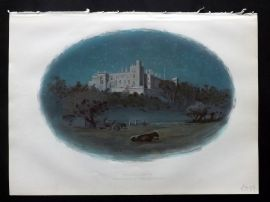 Cassell 1902 Antique Print. Arundel Castle